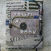 Фотоальбом-блокнот TRAVELBOOK, винтаж