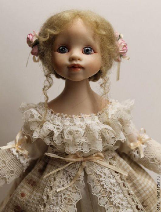 Коллекционные куклы ручной работы. Ярмарка Мастеров - ручная работа. Купить Куколка Жемчужина. Handmade. Кукла, полимерная глина, жемчуг