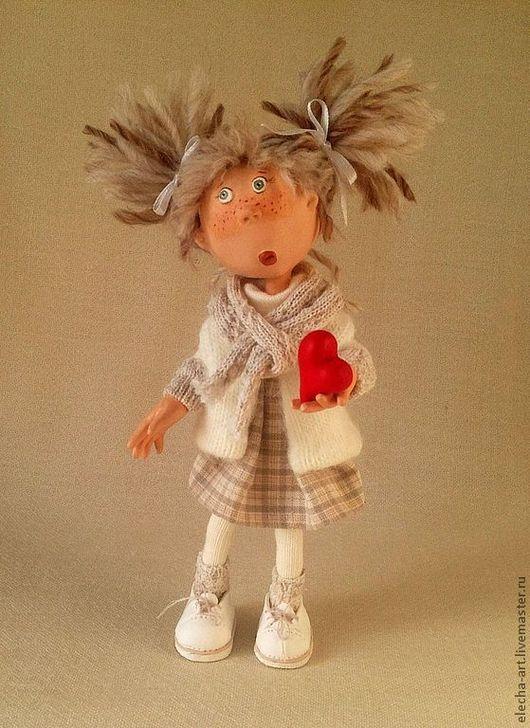 Коллекционные куклы ручной работы. Ярмарка Мастеров - ручная работа. Купить Авторская кукла из полимерной глины Леся.. Handmade.