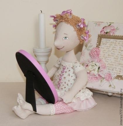 Коллекционные куклы ручной работы. Ярмарка Мастеров - ручная работа Свет мой зеркальце.... Handmade.
