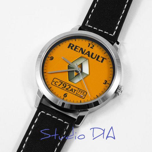 Часы Renault С Номером. Студия Дизайнерских Часов DIA.