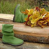 Обувь ручной работы. Ярмарка Мастеров - ручная работа Сапоги весенне-осенние. Handmade.