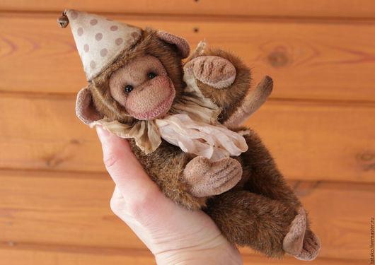Мишки Тедди ручной работы. Ярмарка Мастеров - ручная работа. Купить обезьянка тедди. Handmade. Комбинированный, обезьянка тедди