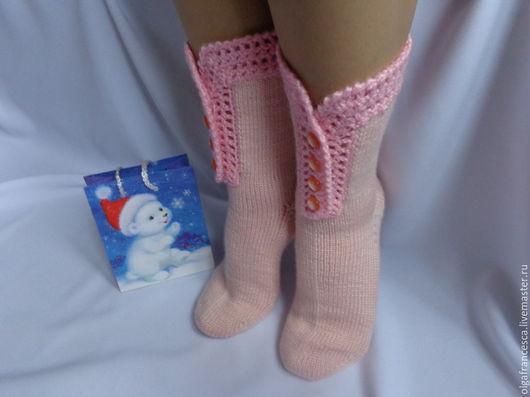 носки, носочки, шерстяные носки, вязаные носки, новогодний подарок, подарок на новый год, подарок девушке, подарок ручной работы, сапожки вязаные, сапожки валяные, сапожки ручной работы