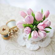 Цветы и флористика ручной работы. Ярмарка Мастеров - ручная работа Нежная весна. Handmade.