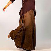 Одежда ручной работы. Ярмарка Мастеров - ручная работа Брюки-юбка Кабуки. Handmade.