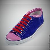 Обувь ручной работы. Ярмарка Мастеров - ручная работа Спортивная кожаная обувь 044. Handmade.