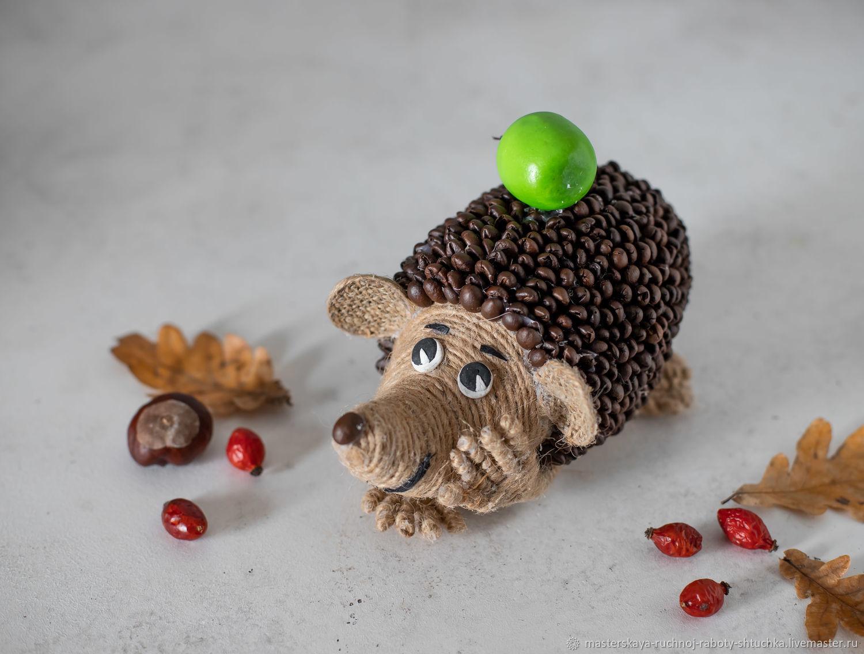 Ароматный кофейный ежик с яблоком, Элементы интерьера, Белореченск,  Фото №1