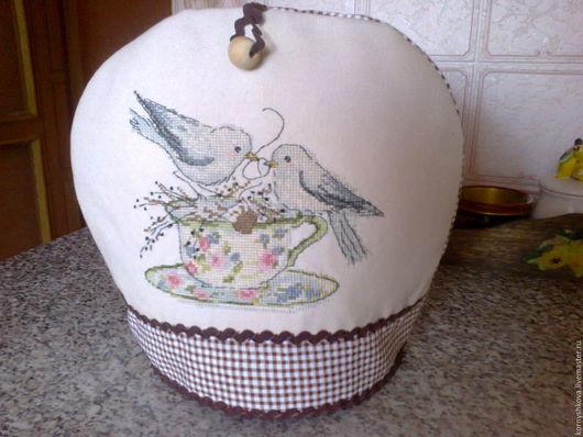 Кухня ручной работы. Ярмарка Мастеров - ручная работа. Купить Грелка для чайника. Handmade. Комбинированный, кухня