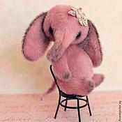 Куклы и игрушки ручной работы. Ярмарка Мастеров - ручная работа Слоня цвета пыльной розы.... Handmade.