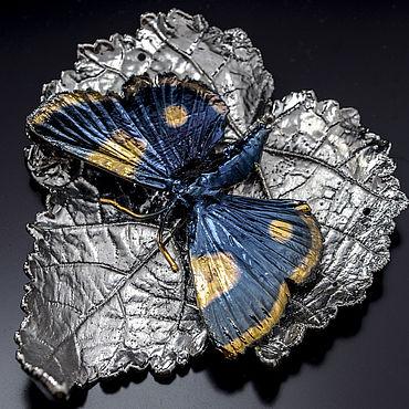 """Украшения ручной работы. Ярмарка Мастеров - ручная работа Кулоны: """"Бабочка"""" 638. Handmade."""