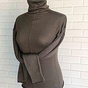 Одежда handmade. Livemaster - original item Turtleneck Italian Merino. Handmade.