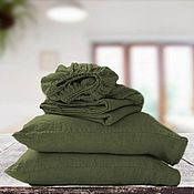 Для дома и интерьера handmade. Livemaster - original item Pillowcases. sheets. Bed sheets with elastic. Linen. Handmade.