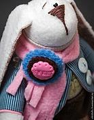 Куклы и игрушки ручной работы. Ярмарка Мастеров - ручная работа Тильда-заяц Денди. Handmade.
