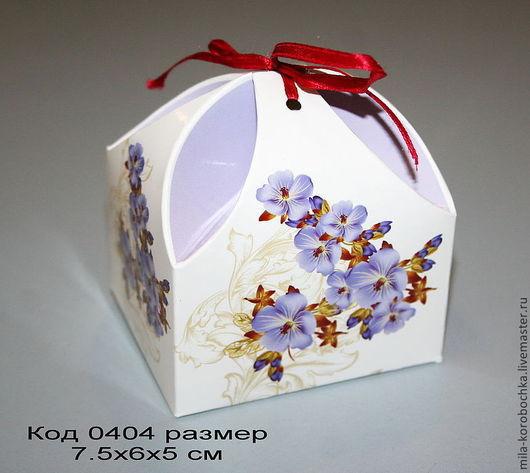 код 0404 коробочка подарочная,бонбоньерка