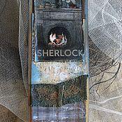 """Канцелярские товары ручной работы. Ярмарка Мастеров - ручная работа Закладки из коллекции """"Шерлок и Лондон"""" (№ 8). Handmade."""