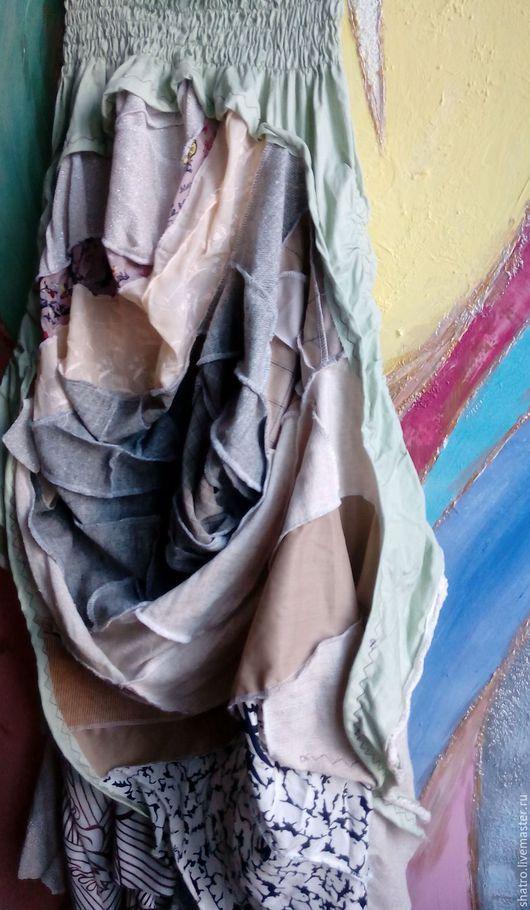 Юбки ручной работы. Ярмарка Мастеров - ручная работа. Купить бохо-юбка. Handmade. Юбка в пол, разные