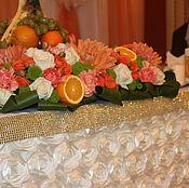 Свадебный салон ручной работы. Ярмарка Мастеров - ручная работа Свадебное оформление в оранжевом цвете. Handmade.