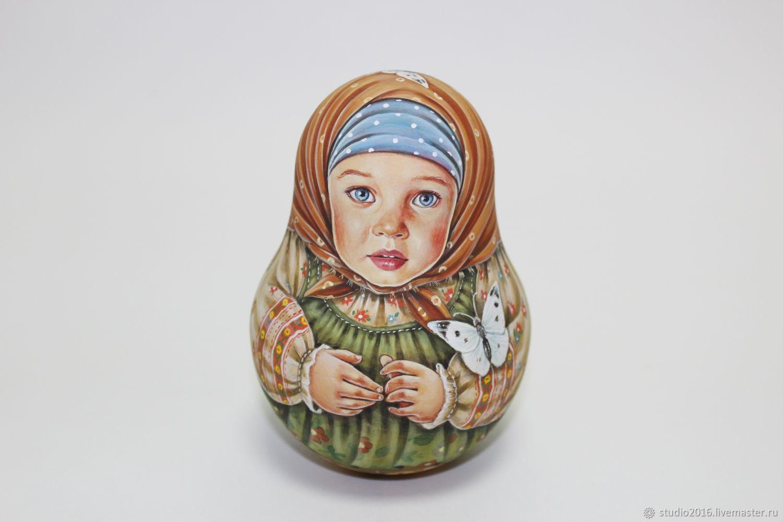 неваляшка, Портретные куклы, Москва, Фото №1