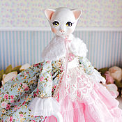 Куклы и игрушки handmade. Livemaster - original item Libby art doll, ooak, doll interior artdoll, collectible doll. Handmade.
