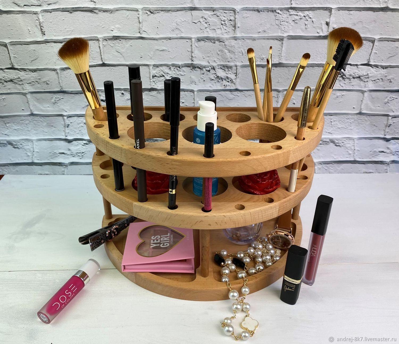 Органайзеры для косметики из дерева купить косметика для женщин купить в минске