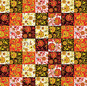 """Материалы для творчества ручной работы. Ярмарка Мастеров - ручная работа Ткань """"Лоскутная №2"""". Handmade."""