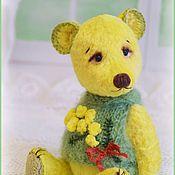 Куклы и игрушки ручной работы. Ярмарка Мастеров - ручная работа Мимозики мишки тедди. Handmade.