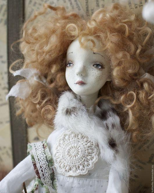 Коллекционные куклы ручной работы. Ярмарка Мастеров - ручная работа. Купить Лесная девочка. Будуарная кукла.. Handmade. Белый