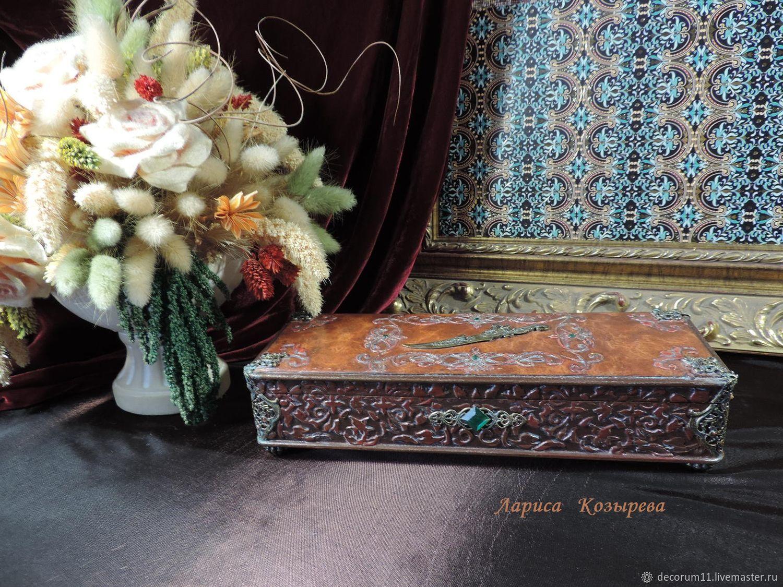 Men's jewelry box, Box, Moscow,  Фото №1
