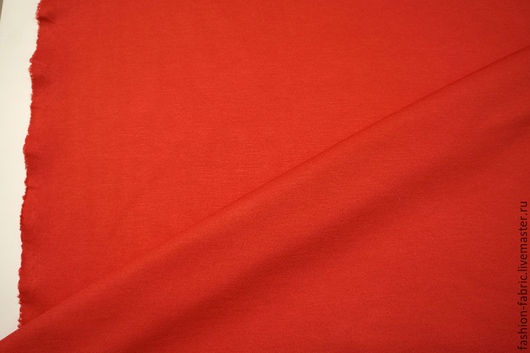Шитье ручной работы. Ярмарка Мастеров - ручная работа. Купить Джерси вискозный красный 7121505 Цена за метр. Handmade.