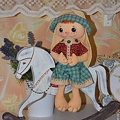 Куклы и игрушки ручной работы. Ярмарка Мастеров - ручная работа зайка Филипп. Handmade.