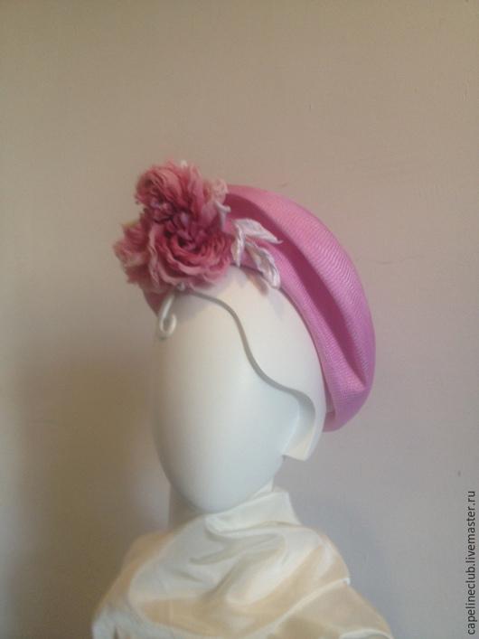 Шляпы ручной работы. Ярмарка Мастеров - ручная работа. Купить Соломенная шляпа. Handmade. Розовый, лето, яркая шляпа