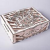 Сувениры и подарки ручной работы. Ярмарка Мастеров - ручная работа Коробочка/упаковка из дерева. Handmade.