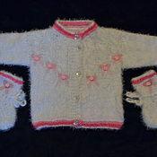 """Работы для детей, ручной работы. Ярмарка Мастеров - ручная работа Кофточка для новорожденного """"Нежность"""". Handmade."""