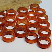 Украшения handmade. Livemaster - original item Ring of carnelian, agate wide 20.25 p-R. Handmade.
