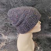 Аксессуары handmade. Livemaster - original item Oversize women`s knitted mohair hat. Handmade.