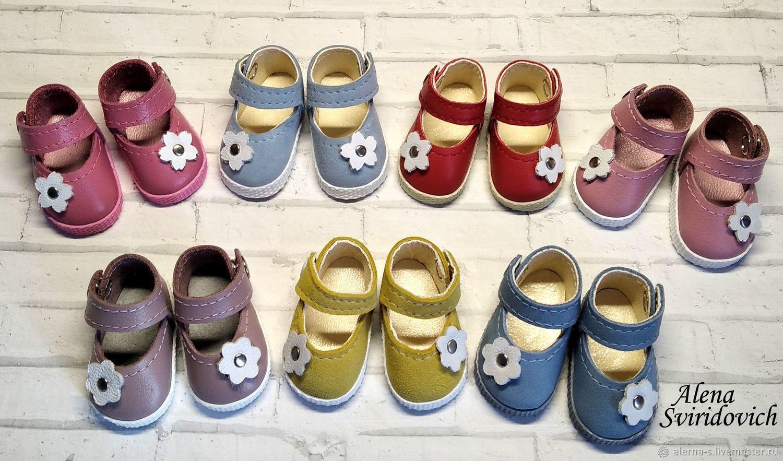 Туфли для кукол Паола Рейна ( кожа ), Одежда для кукол, Ревда,  Фото №1