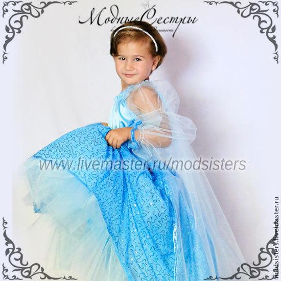 Женское платье холодное сердце