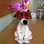 Куклы и игрушки ручной работы. Ярмарка Мастеров - ручная работа Джек рассел терьер. Handmade.