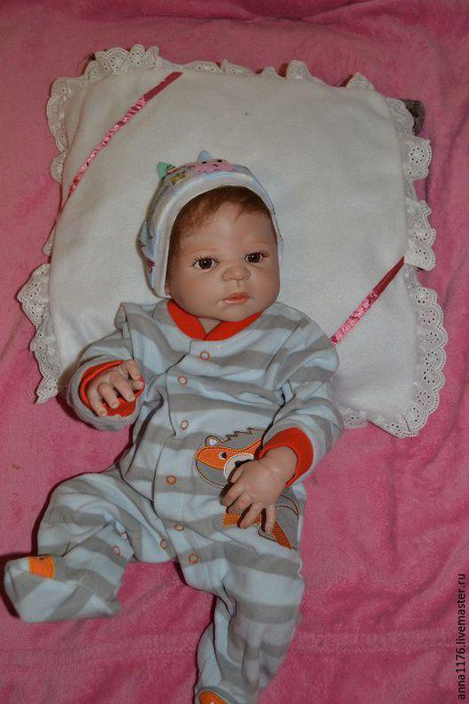 Кукла реборн мальчик малыш