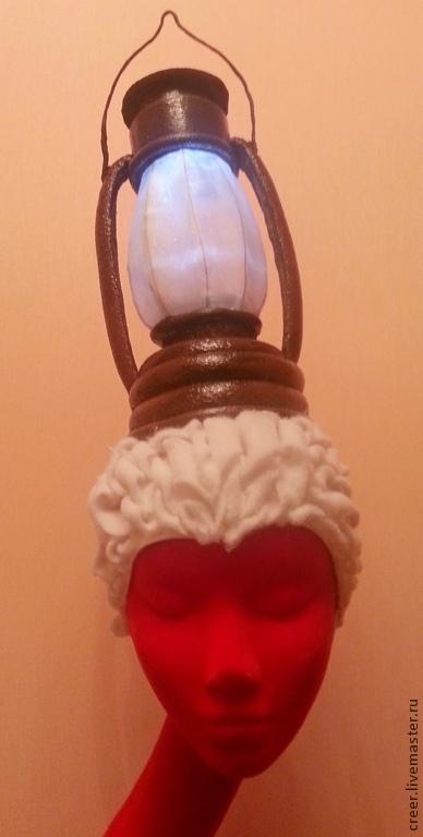 """Шляпы ручной работы. Ярмарка Мастеров - ручная работа. Купить Шляпка"""" Клэр"""". Handmade. Шляпка, дизайнерская шляпка, роспись по ткани"""