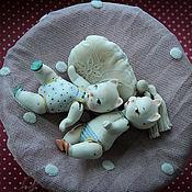Куклы и игрушки ручной работы. Ярмарка Мастеров - ручная работа Мурочки фарфоровые .. Handmade.