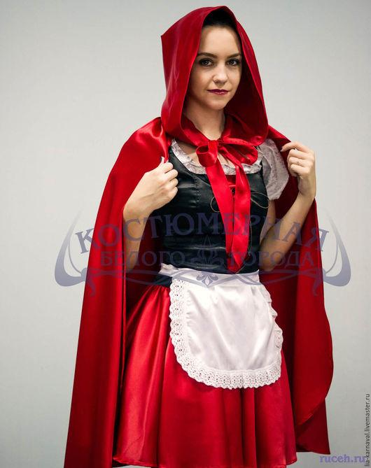 Карнавальные костюмы ручной работы. Ярмарка Мастеров - ручная работа. Купить Костюм Красной Шапочки. Handmade. Ярко-красный, костюм