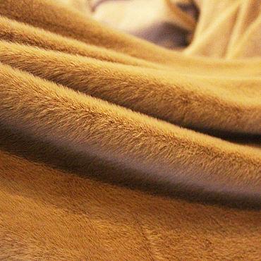 Материалы для творчества ручной работы. Ярмарка Мастеров - ручная работа Эко-мех. Норка-мини цвета верблюжьей шерсти.. Handmade.
