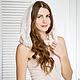"""Платья ручной работы. Ярмарка Мастеров - ручная работа. Купить Валяное платье """"Blush"""". Handmade. Бледно-розовый, нуно-фелтинг"""
