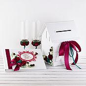 Свадебный салон handmade. Livemaster - original item Set wedding accessories