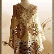 Одежда handmade. Livemaster - original item Poncho crochet