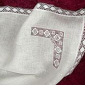 Работы для детей, handmade. Livemaster - original item Baptismal diaper