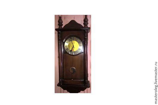 Часы для дома ручной работы. Ярмарка Мастеров - ручная работа. Купить Часы настенные. Handmade. Часы настенные, деревянный корпус