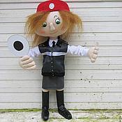 Куклы и игрушки ручной работы. Ярмарка Мастеров - ручная работа Дежурная по станции метро. Handmade.